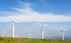 La energía eólica sopla con fuerza